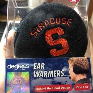 never worn before syracuse university ear muffs
